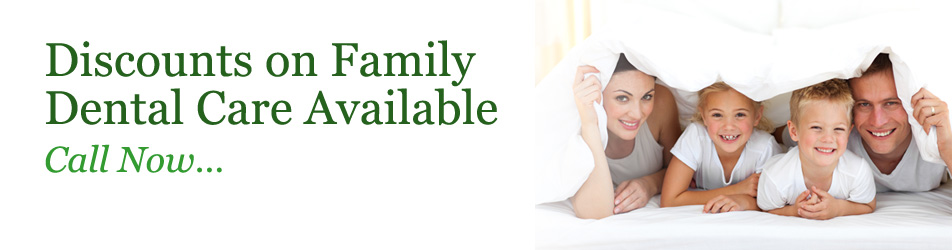 Discount on Family Dental Care